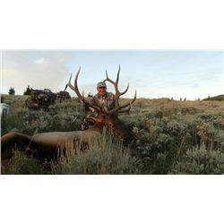 6-day Utah Archery Rocky Mountain Elk, Cow Elk and Mule Deer Hunt for One Hunter and One Observer
