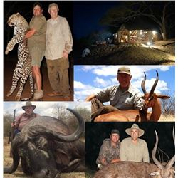 21-day Tanzania Dangerous Game and Plains Game Hunt for One Hunter and One Observer