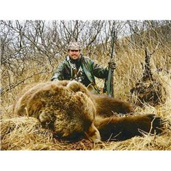 15-day Alaska Brown Bear, Mountain Goat, Black Bear and Wolf Hunt for One Hunter