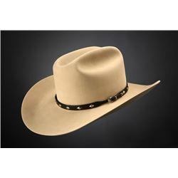 Custom Made Felt Hat w/Hatband and Buckle Set