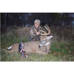 4-day Northeastern White-tailed Deer Hunt for One Hunter and One Observer