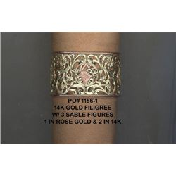 Hand Made Sable Logo Bracelet