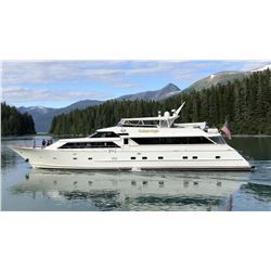 7 Day Alaska Luxury Yacht Based Black Bear Hunt for Four Hunters and Four Non-Hunters