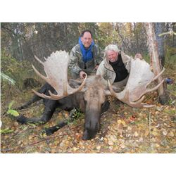 10-day Alaska Moose Tag for One Hunter and One Non-Hunter