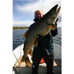 KISSISSING LAKE LODGE Lake Trout and Arctic Grayling Fishing Trip for Two in Canada