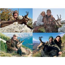 SHIKAR SAFARIS Chamois! Hunter's Choice of Destination and Specie