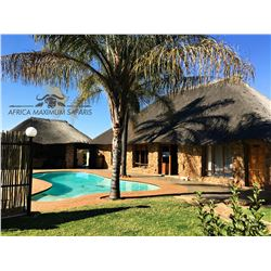 AFRICA MAXIMUM SAFARIS 2 Hunters/2 Non-Hunters For 1 Gemsbuck, 1 Zebra, 1 Blue Wildebeest, 1 Impala
