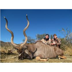 LALAPA SAFARIS 7-Day Hunt for Eastern Cape Kudu, Mountain Reed Buck, Cape Spring Buck for 1 hunter a