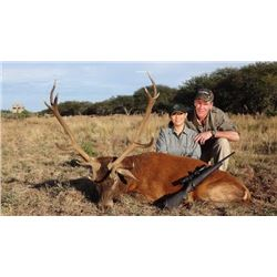 MG HUNTING 5-Day Free Range Red Stag Hunt for 1 Hunter