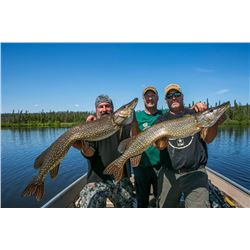 CREE RIVER LODGE 4-Day Fishing Trip for 2 Anglers in Saskatchewan