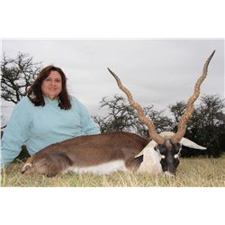 TEXAS HUNT LODGE 2-Day Hunt for Blackbuck Antelope for 1 Hunter and 1 Observer in Texas