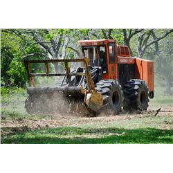 ALL OUT RANCH IMPROVEMENTS One Day of Mulching with the Barko 937
