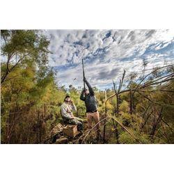 DAVID DENIES BIRD HUNTING 3-Day Argentina Dove Hunt for 8 Hunters