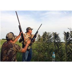 EXCITING OUTDOORS ARGENTINA 4-Day High Volume Dove Hunt and Golden Dorado Fishing for 4 Hunters in A