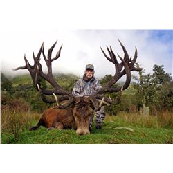 WILDERNESS QUEST NEW ZEALAND 6-Day Hunt for Red Stag plus a $1,500 credit torwards Tahr & Chamois in
