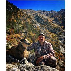 SAFARI INTERNATIONAL MACEDONIA 5-Day Balkan Chamois Hunt for 1 Hunter and 1 Non-Hunter in Macedonia