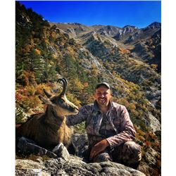 SAFARI INTERNATIONAL MACEDONIA 5-Day Balkan Chamois Hunt for 1 Hunter and 1 Non-Hunter in Macedonia
