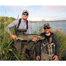 WILDMAN LAKE LODGE 7-Day Alaska Peninsula Fishing Adventure