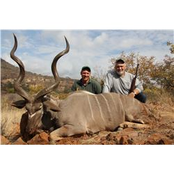 BALLA BALLA SAFARIS 7-Day Greater Kudu Hunt for 2 Hunters and 2 Non-Hunters in Limpopo, South Africa