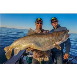 WOLLASTON LAKE LODGE 4-Day Fishing Trip for 2 Anglers in Saskatchewan, Canada