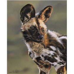 FOUCHE STUDIOS The Painted Pup by Leon Fouche