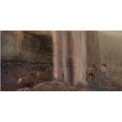 """ROCKY MOUNTAIN SHOWER"" PAINTING GREATER YELLOWSTONE ART"