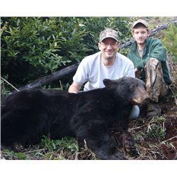 6 - DAY COLUMBIA BLACK TAIL DEER & COASTAL BLACK BEAR HUNT FOR 1 HUNTER