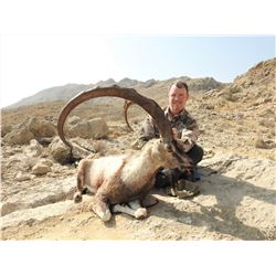 "3 - DAY SINDH IBEX (Up to 39"") HUNT IN PAKISTAN FOR 1 HUNTER (Trophy Fee Included)"