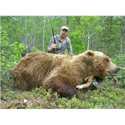 10 - DAY BROWN/GRIZZLY BEAR & BLACK BEAR HUNT FOR 1 HUNTER
