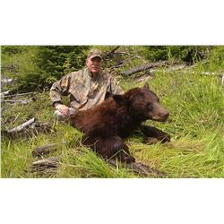 5 - DAY COLUMBIA BLACKTAIL DEER AND BLACK BEAR COMBO HUNT IN OREGON FOR 1 HUNTER