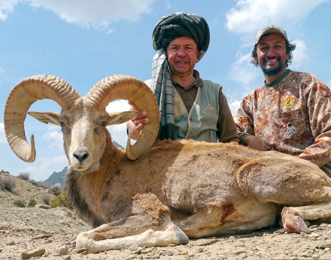 5 - DAY URIAL IN PAKISTAN FOR 1 HUNTER (Hunter's Choice of either Afghan, Punjab or Blandford Urial)