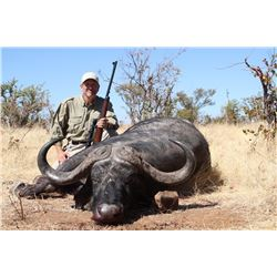 8 - DAY CAPE BUFFALO AND KUDU HUNT FOR 2 HUNTERS AND 2 - NON HUNTERS (Trophy fees for 1 Cape buffalo
