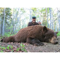 5 - DAY BLACK BEAR HUNT FOR 2 HUNTERS ALASKA WILDERNESS ENTERPRISES