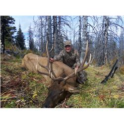 10 - DAY ELK HORSE BACK HUNT ONLY FOR 1 HUNTER IN B.C.