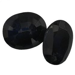 11.92 ctw Oval Mixed Blue Sapphire Parcel
