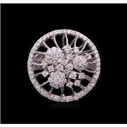1.33 ctw Diamond Ring - 14KT White Gold