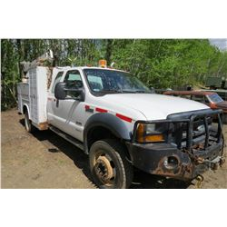 2006 FORD F550 SERVICE TRUCK