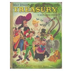 Signed  Walt Disney Treasury  Animator's Parody Book.