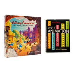 """Art of Animation"" & ""The Illusion of Life"" Books."