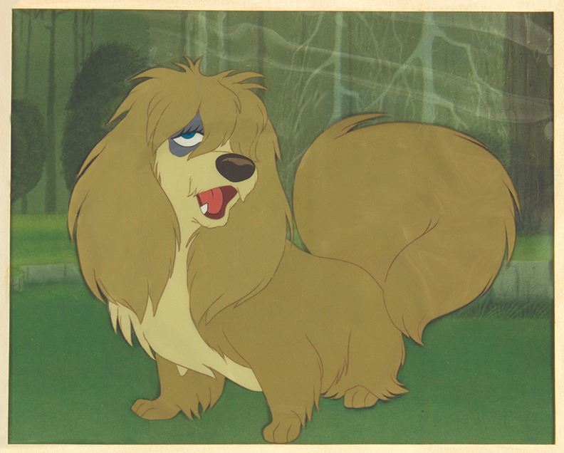 Lady And The Tramp Peg Animation Cel