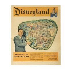 1955 Disneyland Pre-Opening Newspaper Supplement.