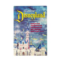 The Story of Disneyland  Opening Year Guidebook.