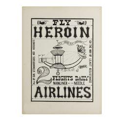 """""""Heroin"""" Doper Poster Artwork."""