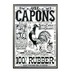 """Capons"" Large Poster from Rolly's House."