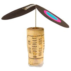 Rolly's Eraser Clip Propeller - Black.