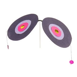 Rolly's Eraser Clip Propeller - Purple.