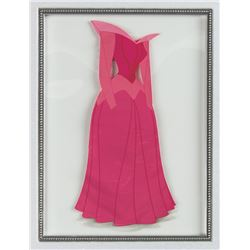 "Aurora's Dress ""Sleeping Beauty"" Animation Cel."