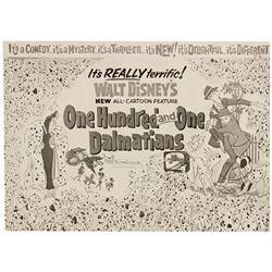"""101 Dalmatians"" Promotional Brochure."