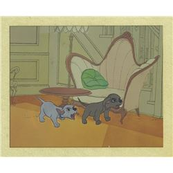 """101 Dalmatians"" Animation Cel."