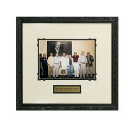 """Walt Disney's Imagineering Legends"" Framed Photo."
